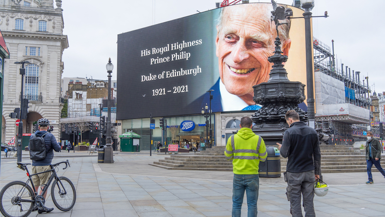 BDA mourns the death of Prince Philip