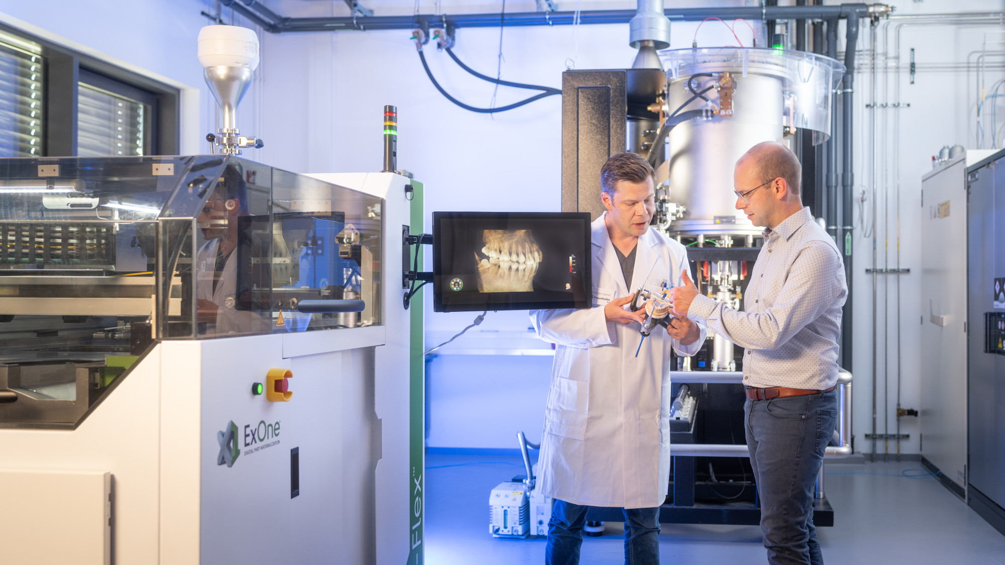3D printing in dentistry: Fraunhofer bringing future technologies into the present