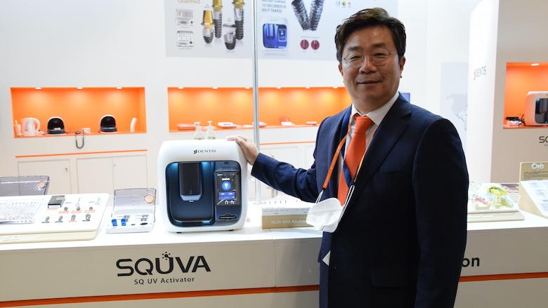 DENTIS presents  novel implant UV activator at IDS