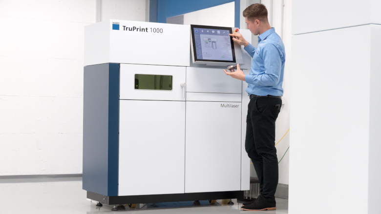TRUMPF presents solution for more efficient abutment printing